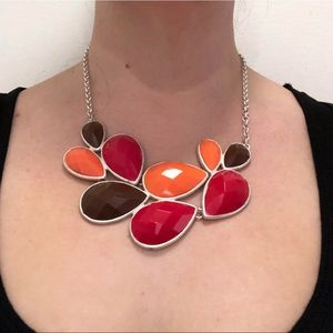 Jewelry - Tri Color Statement Necklace